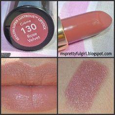 revlon lipstick rose velvet 130