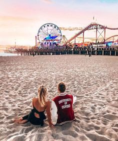 Santa monica pier by - the best photos and videos of california including los Venice Beach California, California Travel, California Tumblr, California Honeymoon, Southern California, Pier Santa Monica, California Pictures, Travel Destinations Beach, Shooting Photo