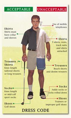Golf Etiquette & Dress Code