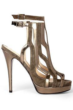 b071891ba9b9 Burak Uyan Neutral High Heeled Sandal Fall-Winter 2012  Shoes  Heels Hot  Shoes