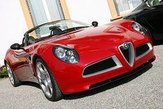 Alfa Romeo 8C Spider Concept (2006)