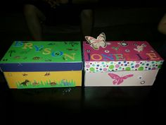 Easter egg hunt for my niece and nephew easter pinterest cute easy to make easter gifts made out of old shoe boxes packed with fun negle Gallery