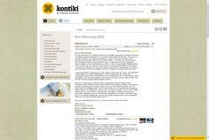 Kontiki, summer guestbook