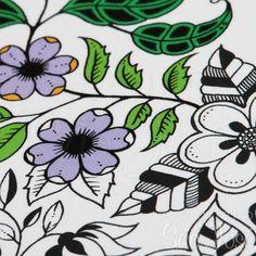 livro jardim secreto johanna basford | Livro para Colorir Jardim Secreto - Johanna Basford