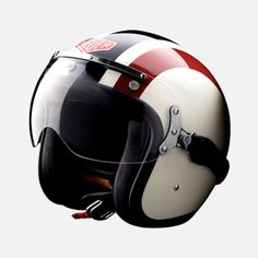 Limited edition motorcycle helmet by TAG Heuer.