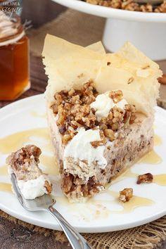 YaYa's Famous Baklava Cheesecake | RecipeLion.com