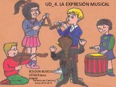 Unidad didáctica 4.LA EXPRESIÓN MUSICAL