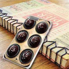 Chocolate Cupcake Chocolate Design iPhone 6 Plus|iPhone 6S Plus Case