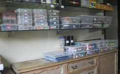 My solution to organize scrap supplies