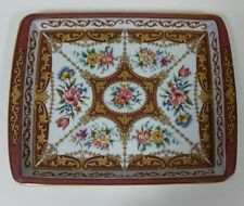 Daher Decorated Ware Tray Made In England Daher Decorated Ware Metal Blue And White Tray England 775 X 6