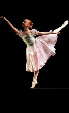 Cameron Ballet Academy - Peasant pas variation costume by Margaret Shore