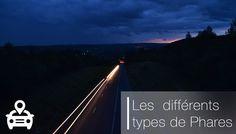 Les principales différences entre les phares. Rappel en matière de sécurité routière. www.legipermis.com