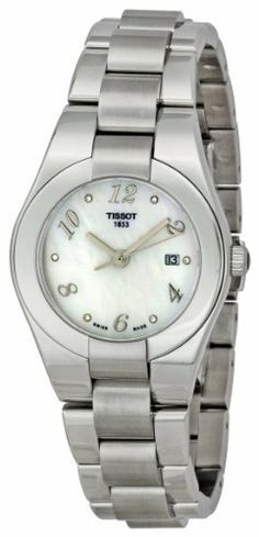 Tissot Women's T0432101111702 Glam Sport Mother-Of-Pearl Dial Watch Tissot. $421.50. Case diameter: 32 mm. Quartz movement. Stainless-steel case. Antireflective sapphire crystal. Water-resistant to 99 feet (30 M). Save 23%!