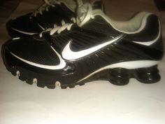 Nike Shox Turbo 8 Women Black Running Size 9.5 Sneaker Shoes #344948001 #Nike #RunningCrossTraining