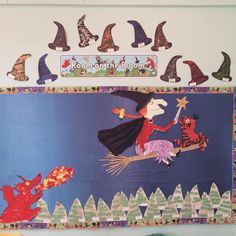 Room on the Broom Arts And Crafts Projects, Fun Crafts, Crafts For Kids, Halloween Activities, Spooky Halloween, World Book Day Activities, English Posters, Room On The Broom, Witch Potion