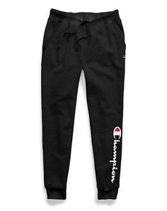 Champion Women's Plus Powerblend® Fleece Joggers, Vertical Logo Champion Women's Plus Powerblend® Fleece Joggers, Vertical Logo Cute Lazy Outfits, Cute Outfits For School, Sporty Outfits, Swag Outfits, Nike Outfits, Cute Sweatpants, Sweatpants Outfit, Cute Pants, Fleece Joggers