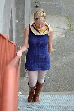 bizzy tunic pattern from petite purls