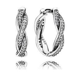 Twist of Fate Earrings -  pandora