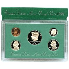 1997-S 5-Coin Proof Set