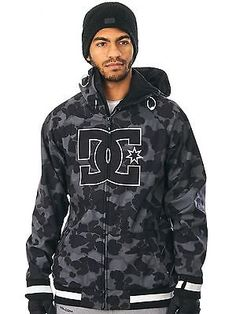 Dc camouflage #lodge grey #spectrum snowboarding #jacket,  View more on the LINK: http://www.zeppy.io/product/gb/2/302096243857/