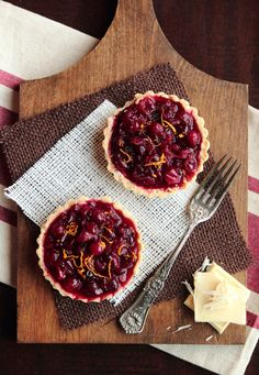 cranberry white chocolate tart