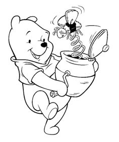 Now Playing Winnie The Pooh Toy Coloring Page
