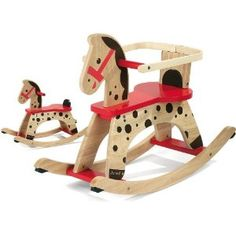 Rocking Horse paint ideas - simple mane & halter