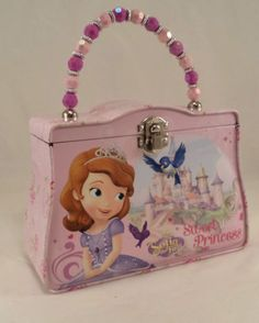 Disney-Sofia-the-first-Sweet-Princess-Purse-Tin-Metal-Box-Storage-Container-3