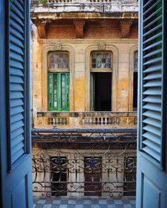 Balcony view i Havanna
