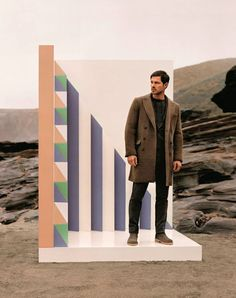British actor Paul Sculfor fronts the Fall/Winter 2013 campaign of Missoni, photographed by Alasdair McLellan.