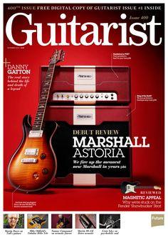 #Guitarist Magazine 400. Debut review: #Marshall Astoria!