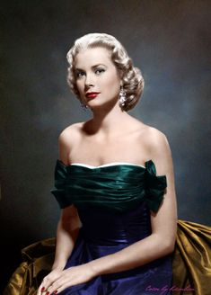 Grace Kelly, 1950's film fashion.