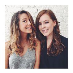 T A N Y A & Z O E - ❤️ These two beauty's @tanyaburr and @zozeebo with there freshly done locks by me @samantha.cusick! #TanyaBurr #ZoeSugg #Zoella #YouTubers #Blogger #Bblogger #TanyaBurrHair #ZoeSuggHair #HairEnvy #Hairspiration