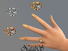 The Sims Resource: Diamond ring by NataliS • Sims 4 Downloads