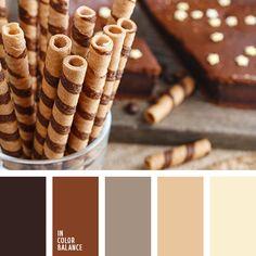 beige, beige claro, color chocolate, elección del color para el diseño, marrón, marrón claro, marrón oscuro, negro, paleta de colores para el hogar, paleta del color marrón monocromática, selección de la combinación de colores, tonos marrones.
