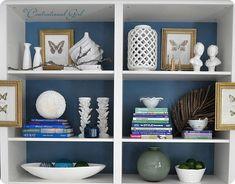 Bookcase Styling - Centsational Girl