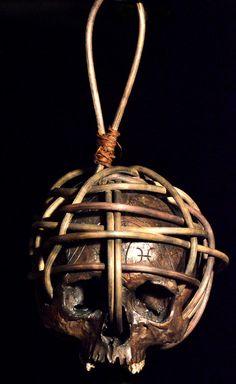 Dayak Head-Hunters Trophy Replica