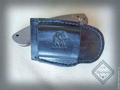 Купить Чехол для ножа SPYDERCO MILITARY - черный, натуральная кожа, spyderco military, чехол для ножа