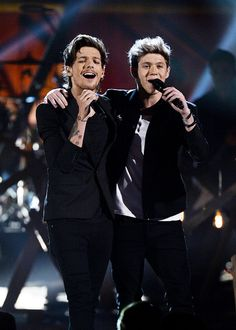 Louis Tomlinson and Niall Horan