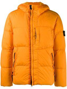 Stone Island hooded puffa jacket