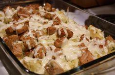 Cheesy Ukranian Pork and Potatoes