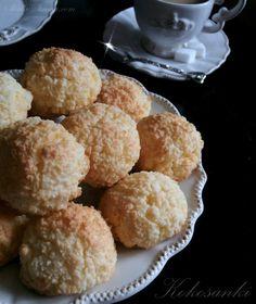 Słodka Strona: Kokosanki Polish Recipes, Fish And Chips, Ricotta, Nutella, Muffin, Sweets, Breakfast, Cook, Interior
