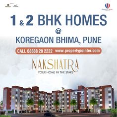 Majestique Nakshatra Koregaon Bhima is one the project that is notable for the high quality and the competitive pricing they have. The Majestique Nakshatra Koregaon Bhima by Majestique Landmarks has several flats that are suitable for both bachelors as well as an average nuclear family. Majestique Nakshatra offers 1 and 2 BHK Apartments with all modern facilities.