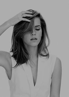 "canufeelthesilence: "" emma watson photographed by andrea carter bowman """