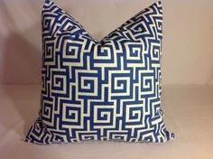 Decorative Throw Pillow cover ONE 22 x22 In door / out by DEKOWE