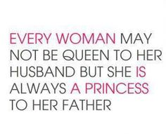 As my Vanessa's pop- this will always b true & now as my monkeys papa- they'll always b my little princesses too