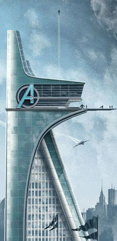 The Avengers Headquarters...