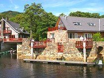 Melfort Harbour Holiday Cottages - Kilmelford, Nr Oban, Argyll, Scotland -   Range of 1, 2 and 3 bedroom holiday cottages in a superb waterside location overlooking stunning Loch Melfort, many with sauna & spa jacuzzi bath