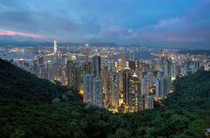 Hong Kong from Sky Terrace 428 at Victoria Peak by David Gn on 500px