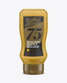 Display your design in a more efficient way on this Plastic Tottle Bottle with Mustard Mockup. Fairy simple to use. Easy to recolor parts separately. This PSD mockup includes special layers and a smart object for your design.